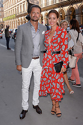 David Charvet and guest attending the Christian Dior Exhibition Party during Paris Fashion Week Haute Couture Collection Fall/Winter 2017-2018 in Paris, France on July 3, 2017. Photo by Julien Reynaud/APS-Medias/ABACAPRESS.COM