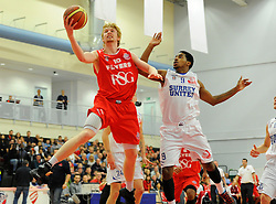 Bristol Flyers' Mathias Seilund  - Photo mandatory by-line: Joe Meredith/JMP - Mobile: 07966 386802 - 21/11/2014 - Sport - Basketball - Bristol - SGS Wise Campus - Bristol Flyers v Surrey United - British Basketball League