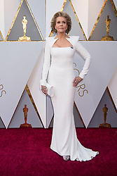 March 4, 2018 - Hollywood, CA, U.S. - 04 March 2018 - Hollywood, California - Jane Fonda. 90th Annual Academy Awards presented by the Academy of Motion Picture Arts and Sciences held at Hollywood & Highland Center. Photo Credit: A.M.P.A.S./AdMedia (Credit Image: © A.M.P.A.S/AdMedia via ZUMA Wire)
