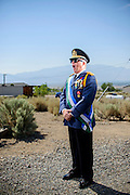 Photo by Matt Roth<br /> <br /> The Republic of Molossia is a tiny micronation surrounded by Dayton, Nevada. It's run -- nay -- RULED by fifty-one-year-old President Kevin Baugh. I spent the day at this tiny country Monday, August 12, 2013 XXXVI (the roman numeral extension signifies how long Molossia has existed, and it's how Molossians write the date). <br /> <br /> Monday, August 12, 2013 XXXVI