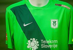 Jersey of NK Olimpija Ljubljana during NZS Draw for season 2016/17, on June 24, 2016 in Brdo pri Kranju, Slovenia. Photo by Vid Ponikvar / Sportida