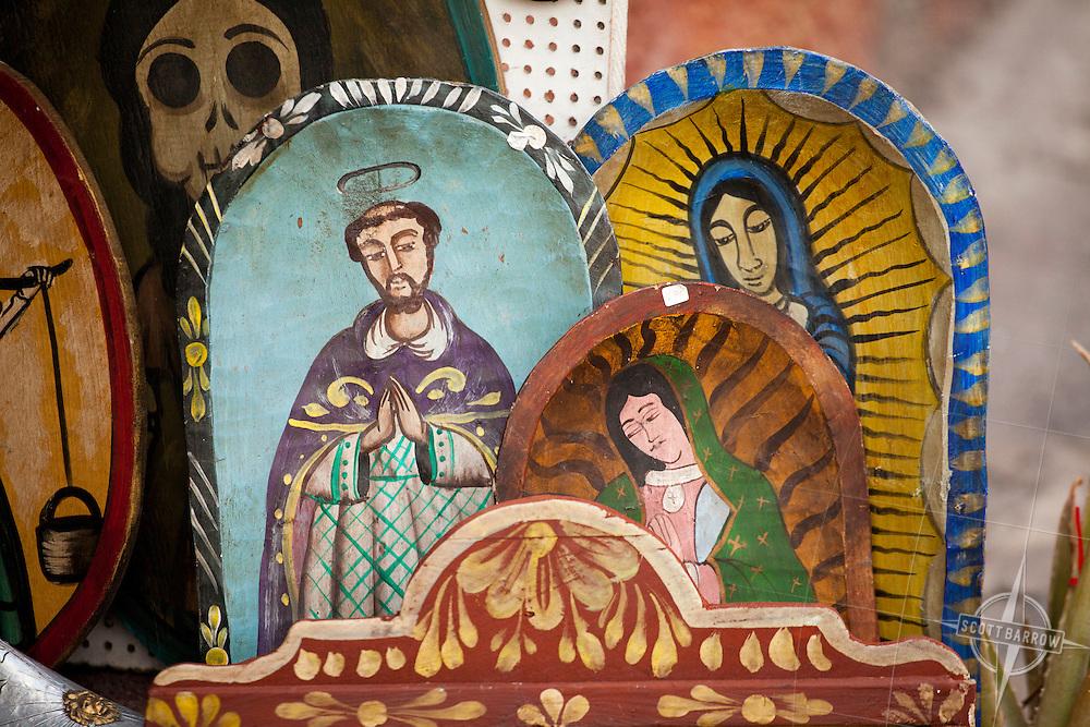 Mexican religious folk art