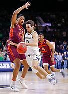 NCAA Basketball - Notre Dame Fighting Irish vs Virginia Tech Hokies - South Bend, In