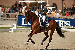 Kanerva Emma, FIN, Aperol<br /> World ChampionshipsYoung Dressage Horses<br /> Ermelo 2018<br /> © Hippo Foto - Dirk Caremans<br /> 03/08/2018