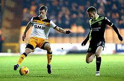 Ryan Taylor of Port Vale takes on Scott Burgess of Bury - Mandatory by-line: Robbie Stephenson/JMP - 20/01/2017 - FOOTBALL - Vale Park - Stoke-on-Trent, England - Port Vale v Bury - Sky Bet League One