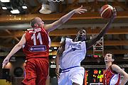 LIGNANO SABBIADORO, 13 LUGLIO 2015<br /> BASKET, EUROPEO MASCHILE UNDER 20<br /> ITALIA-SERBIA<br /> NELLA FOTO: Nicola Akele<br /> FOTO FIBA EUROPE/CASTORIA
