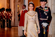 1-1-2019 - COPENHAGEN - Prince Joachim and Princess Marie of Denmark arrive at the annual New Years reception in Amalienborg Palace in Copenhagen, Denmark, Danish royal family attend New Years reception 2019 COPYRIGHT ROBIN UTRECHT<br /> <br /> 2019/01/01 - KOPENHAGEN - Prins Joachim en Prinses Marie van Denemarken aankomt op de jaarlijkse nieuwjaarsreceptie in Amalienborg in Kopenhagen, Denemarken, de Deense koninklijke familie wonen Nieuwjaarsreceptie 2019 COPYRIGHT ROBIN UTRECHT