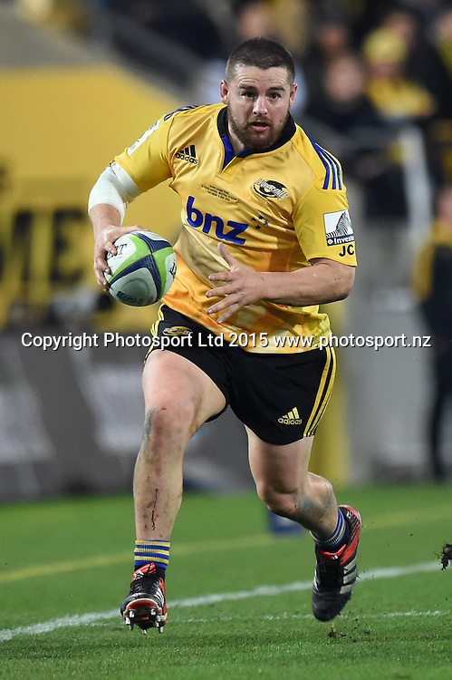 Dane Coles of the Hurricanes during the Super Rugby Final match between the Hurricanes and Highlanders at Westpac Stadium, Wellington, New Zealand. 4 July 2015. Copyright Photo: Andrew Cornaga / www.Photosport.nz
