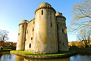 Nunney Castle, Somerset, England, United Kingdom.
