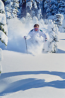Northstar Powder Skiing