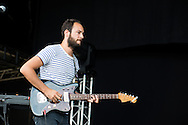 Antoine Chance during the Ronquieres Festival in Belgium. A music festival in the inclined plane Ronquieres, emblematic place of Belgium. Sould-out festival with more than 32,000 festival goers for this fourth edition