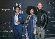 2017-11-16. Grand Hotel Krasnapolsky, Amsterdam. Esquire Beste Geklede Man 2017. Op de foto: Ferry Doedens