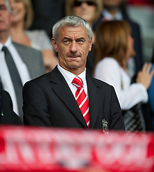LIVERPOOL, ENGLAND - Saturday, April 23, 2011: Former Liverpool striker Ian Rush before the Reds' Premiership match against Birmingham City at Anfield. (Photo by David Rawcliffe/Propaganda)