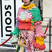 Fashionist attend LFW AW19 Day 1 at The Strand, London, UK. 15 Feb 2019