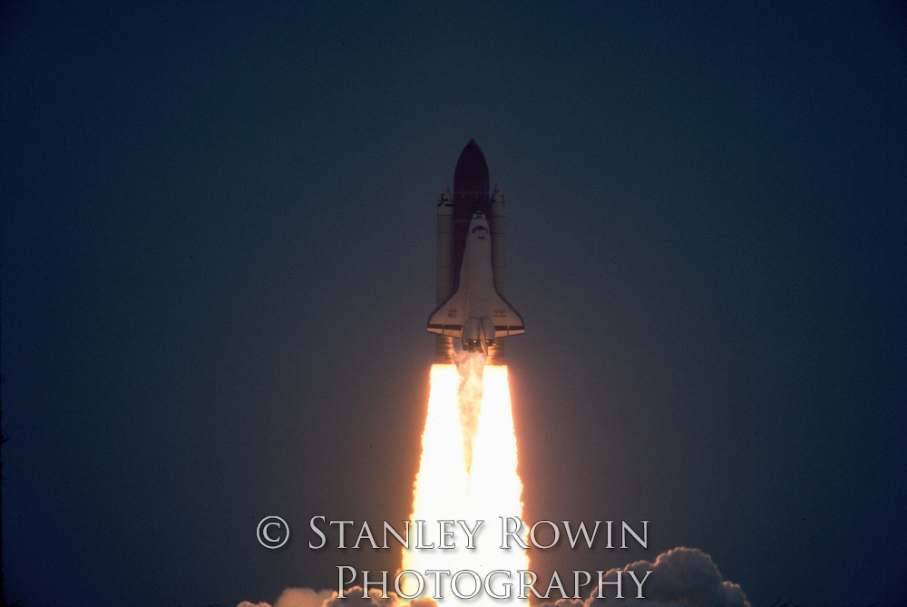 Space Shuttle Discovery Launch, Blast Off
