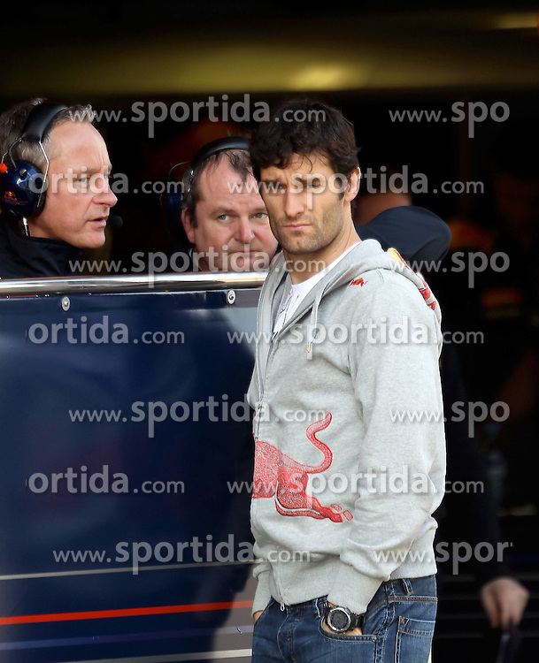09.03.2011, Circuit de Catalunya, Barcelona, ESP, Formel 1 Test 4 2011,  im Bild Mark Webber (AUS), Red Bull Racing .EXPA Pictures © 2011, PhotoCredit: EXPA/ nph/  Poleposition.at       ****** only for AUT ans SLO *******