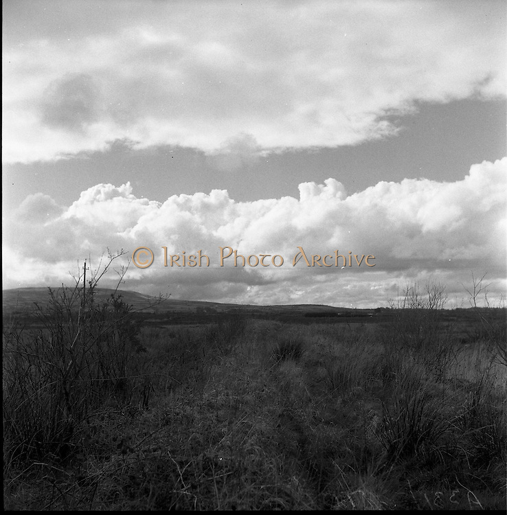 30/03/1957<br /> 03/30/1957<br /> 30 March 1957<br /> <br /> Clouds over Co. Tipperary Mountains