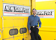 "Jonathon ""J"" Stone, Fellow with the Environmental Defense Fund. Jonathon Stone of the Environmental Defense Fund consulting for the NewsCorp printing plant in Bronx, New York."
