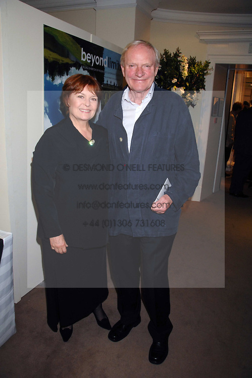 Actor JULIAN GLOVER and his wife at the Sotheby's Summer Party 2007 at their showrooms in New Bond Street, London on 4th June 2007.<br /><br />NON EXCLUSIVE - WORLD RIGHTS