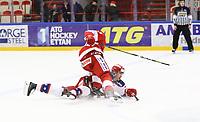 2020-02-12 | Ljungby, Sweden: during the game between IF Troja / Ljungby and Huddinge IK at Ljungby Arena ( Photo by: Fredrik Sten | Swe Press Photo )<br /> <br /> Keywords: Ljungby, Icehockey, HockeyEttan, Ljungby Arena, IF Troja / Ljungby, Huddinge IK, fsth200212, ATG HockeyEttan, Allettan