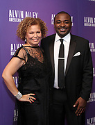 Honoree Debra Lee and Robert Battle attend Alvin Ailey's 2017 Opening Night Gala at The New York City Center in New York City, New York on November 29, 2017.
