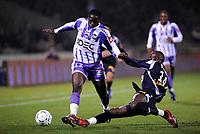 Fotball<br /> Frankrike<br /> Foto: Dppi/Digitalsport<br /> NORWAY ONLY<br /> <br /> FOOTBALL - FRENCH CHAMPIONSHIP 2007/2008 - L1 - GIRONDINS BORDEAUX v TOULOUSE FC - 02/12/2007 - MOUSSA SISSOKO (TOU) / SOULEYMANE DIAWARA (BOR)