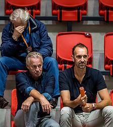 06-09-2018 NED: Netherlands - Argentina, Doetinchem<br /> First match of Gelderland Cup / (L-R) Peter Murphy, Joop Alberda, Peter Blange