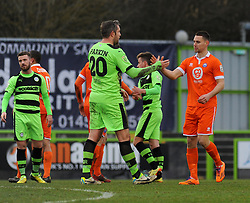 - Photo mandatory by-line: Nizaam Jones - Mobile: 07966 386802 - 14/03/2015 - SPORT - Football - Nailsworth - The New Lawn - Forest Green Rovers v Braintree  - Vanarama Football Conference.