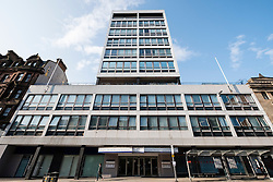 Exterior of  NHS Glasgow Dental Hospital and School on Sauchiehall Street Glasgow, Scotland, United Kingdom