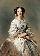 The Empress Maria Alexandrovna of Russia (wife of Alexander II. By Franz Xavier Winterhalter  1857 AD