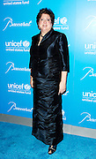 Caryl Stern poses at the 2009 UNICEF Snowflake Ball Arrivals in New York City on December 2, 2009.