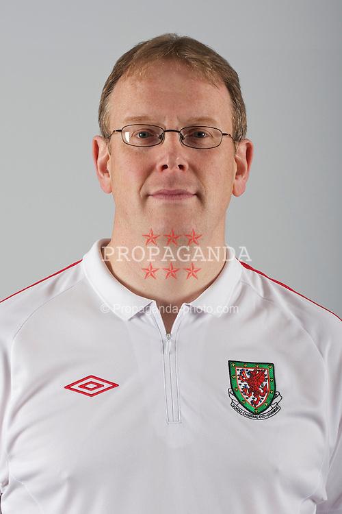 Wales' head of international affairs Mark Evans.