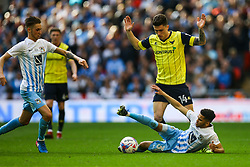 Josh Ruffels of Oxford United stands over Dion Kelly-Evans of Coventry City - Photo mandatory by-line: Jason Brown/JMP -  02/04//2017 - SPORT - Football - London - Wembley Stadium - Coventry City v Oxford United - Checkatrade Trophy Final