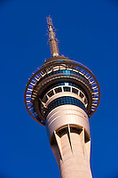 Sky Tower (tallest free-standing structure in the Southern Hemisphere), Sky City, Central Business District, Auckland, New Zealand