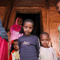 A young girl in rural Ethiopia often faces a life full of hard physical work and a lack of health care facilities.