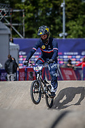 2018 UEC European Elite Championships, Glasgow (UK)<br /> MAHIEU Romain #100 (FRANCE)