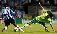 20120527: PORTO ALEGRE, RS, BRAZIL -Player Valdivia of  S.E. Palmeiras and Fernando from Gremio during Palmeiras Vs Gremio FPA team match for Brazilian Championship. <br />