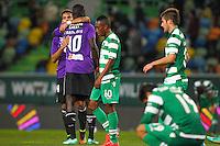 Joie Adama Francois Sene / Miguel Lourenco / Deception Sporting  - 28.01.2015 - Sporting / Vitoria Setubal -Coupe de la ligue- Portugal-<br /> Photo : Carlos Rodrigues /  Icon Sport