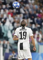 October 2, 2018 - Turin, Italy - Leonardo Bonucci during Champions League match between Juventus v Young Boys, in Turin, on October 2, 2018. (Credit Image: © Loris Roselli/NurPhoto/ZUMA Press)