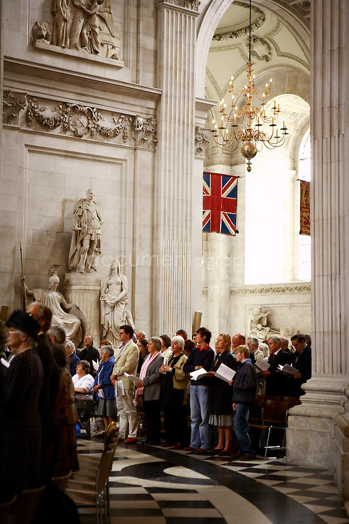 The congregation during the Consecration of the Bishop of Repton at St Paul's Cathedral.