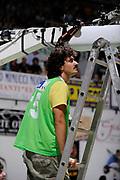 DESCRIZIONE : Siena Lega A 2008-09 Playoff Finale Gara 2 Montepaschi Siena Armani Jeans Milano<br /> GIOCATORE : Christian<br /> SQUADRA : <br /> EVENTO : Campionato Lega A 2008-2009 <br /> GARA : Montepaschi Siena Armani Jeans Milano<br /> DATA : 12/06/2009<br /> CATEGORIA : before<br /> SPORT : Pallacanestro <br /> AUTORE : Agenzia Ciamillo-Castoria/G.Ciamillo