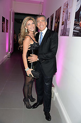 LISA TCHENGUIZ and STEVE VORSARI at a party to launch the Autumn/Winter 2013 Candy Magazine held at The Saatchi Gallery, Duke of York's HQ, King's Road, London on 15th October 2013.