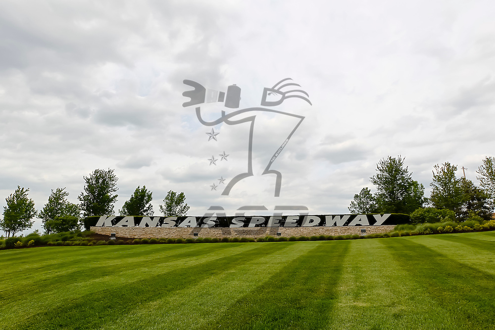 KANSAS CITY, KS - APR 19, 2012:  Kansas Speedway plays host to the STP 400 in Kansas City, KS.