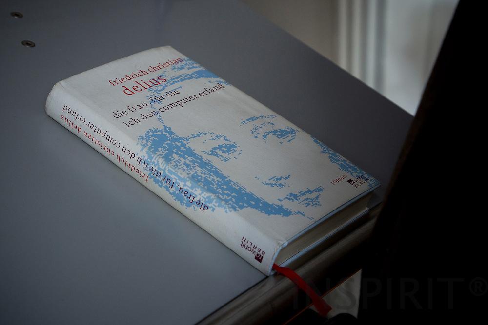 Lesung mit dem Träger des George-Büchner-Preises 2011 Fredrich Christian Delius in die Vertretung des Landes Hessen bei EU in Brüssel 11. Juli 2012 (Deutche Akademie fur Sprache und Dichtung). Foto: Erik Luntang/INSPIRIT Photo