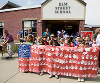 Elm Street School Flag Day Celebration June 14, 2010.