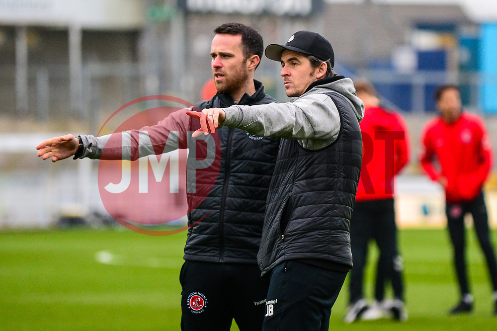 Fleetwood Town manager Joey Barton - Mandatory by-line: Dougie Allward/JMP - 25/01/2020 - FOOTBALL - Memorial Stadium - Bristol, England - Bristol Rovers v Fleetwood Town - Sky Bet League One