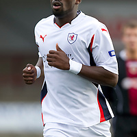 Raith Rovers....Season 2010-11<br /> Gregory Tade<br /> Picture by Graeme Hart.<br /> Copyright Perthshire Picture Agency<br /> Tel: 01738 623350  Mobile: 07990 594431