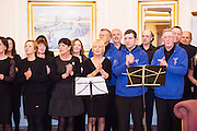 Ignite Choir at the Gorta Self Help Africa Annual Ball at the Galway Bay Hotel, Salthill Galway.<br /> Photo:Andrew Downes, xposure.