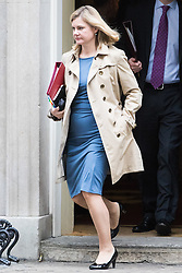 Downing Street, London, November 15th 2016.  Education Secretary Justine Greening leaves Downing Street following the weekly cabinet meeting.