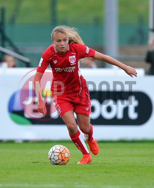 Claire Emslie of Bristol City Women - Mandatory by-line: Paul Knight/JMP - 24/09/2016 - FOOTBALL - Stoke Gifford Stadium - Bristol, England - Bristol City Women v Durham Ladies - FA Women's Super League 2